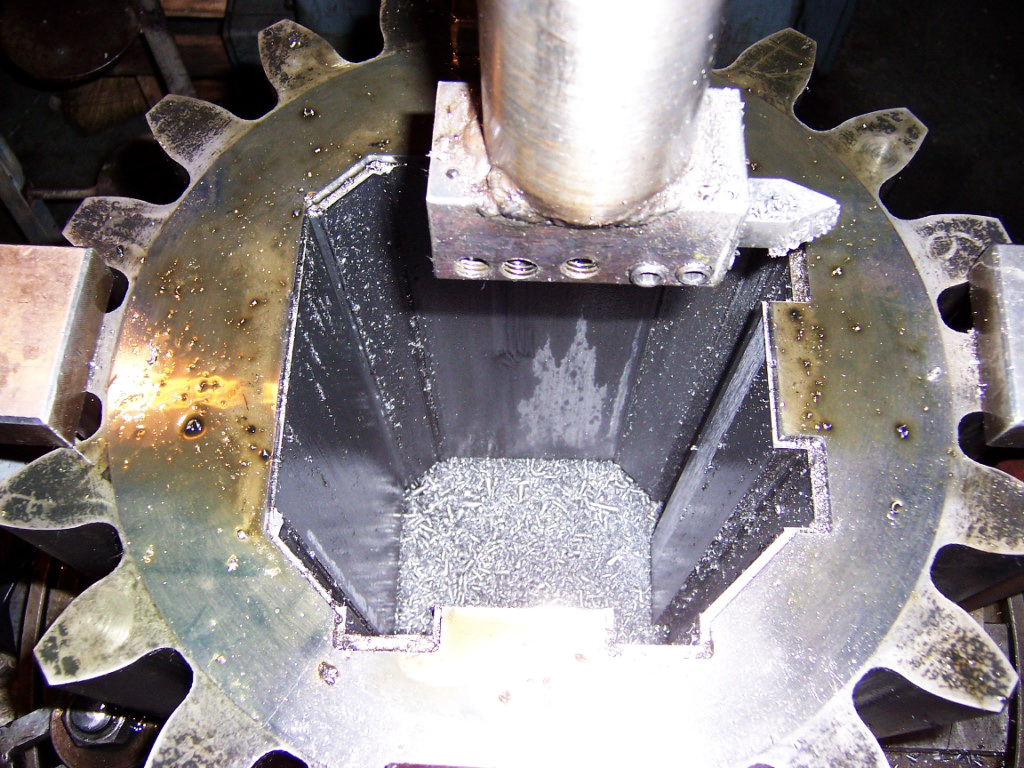 Piñon máquina de forjado en caliente