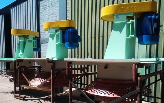 Reparación de agitadores para la Industria Petrolera