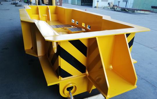 Componente de puente de grúa para la Industria Siderúrgica